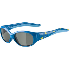 Alpina Flexxy Brille Kinder blue/black mirror